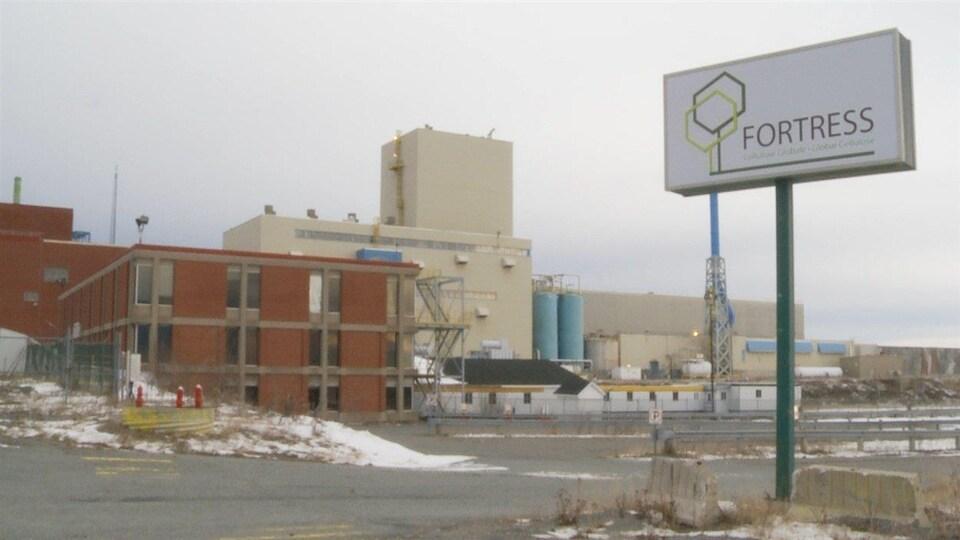 L'usine de Fortress Paper, à Lebel-sur-Quévillon