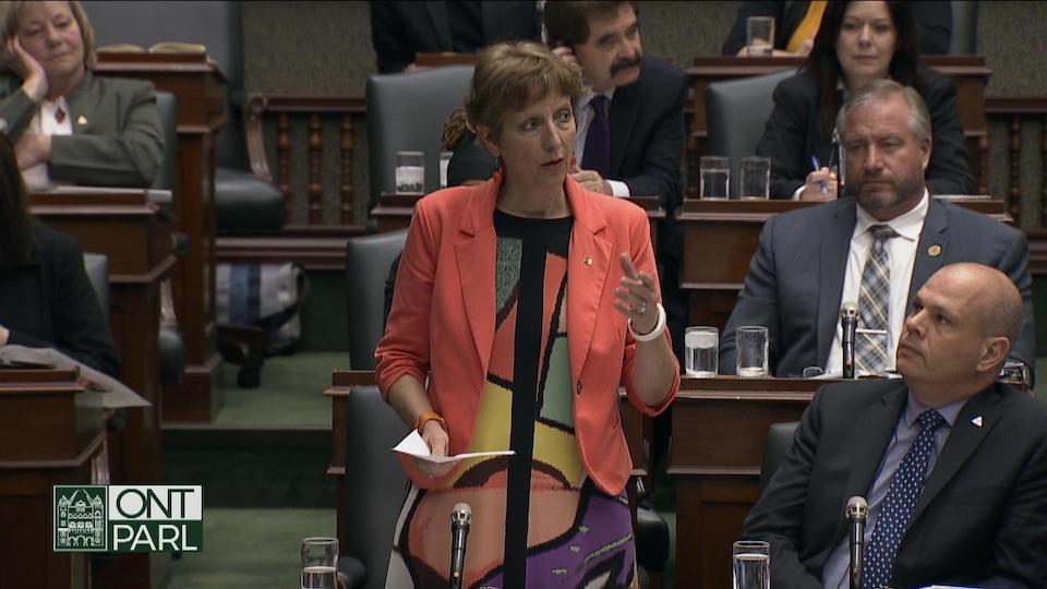 La députée néo-démocrate France Gélinas.