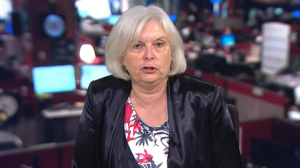 La coroner Francine Danais