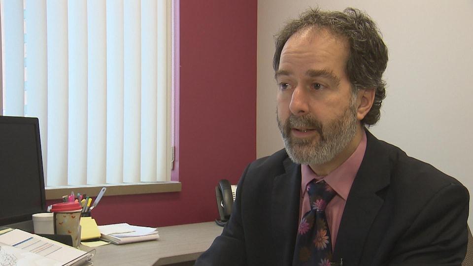 François Aumond, directeur des services professionnels au CIUSSS de la Capitale-Nationale