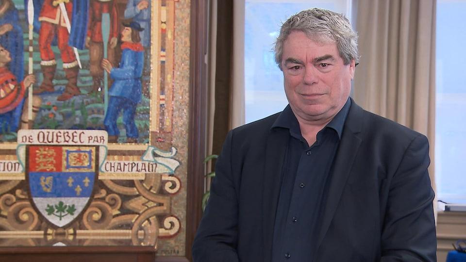 François Bourque, chroniqueur au quotidien Le Soleil.