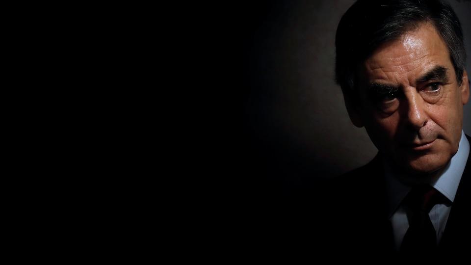 Le candidat de la droite et du centre, François Fillon.