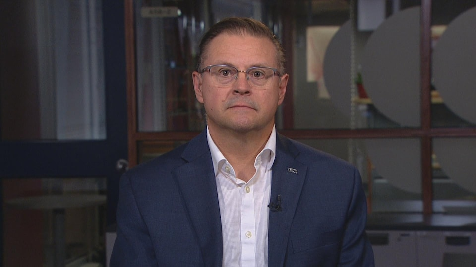 François Meunier, porte-parole de l'Association Restauration Québec