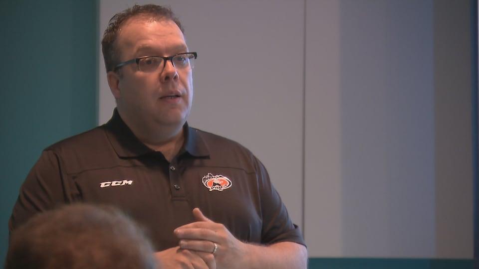 François Talbot, officiel en chef, Hockey Québec-Chaudière-Appalaches