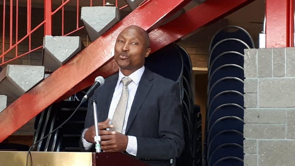 Alphonse Ahola, directeur de la Francophonie Albertaine plurielle.