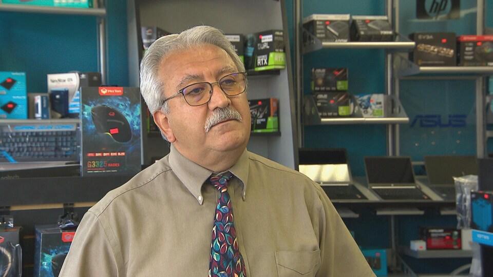 Fred Gulchin, propriétaire d'Unison Digital Systems.