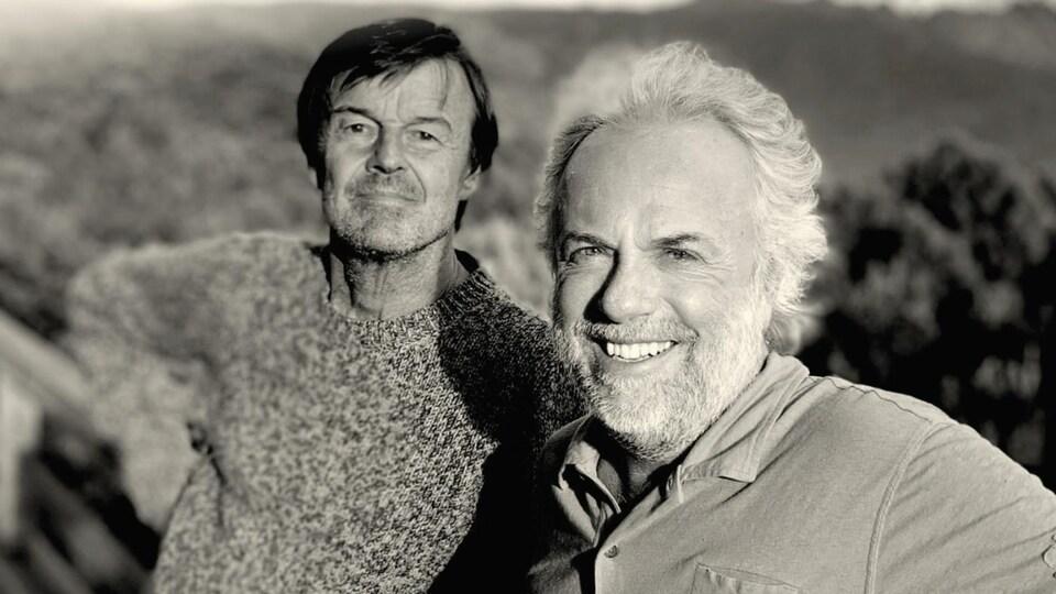 la couverture du livre, une photo de Frédéric Lenoir et Nicolas Hulot