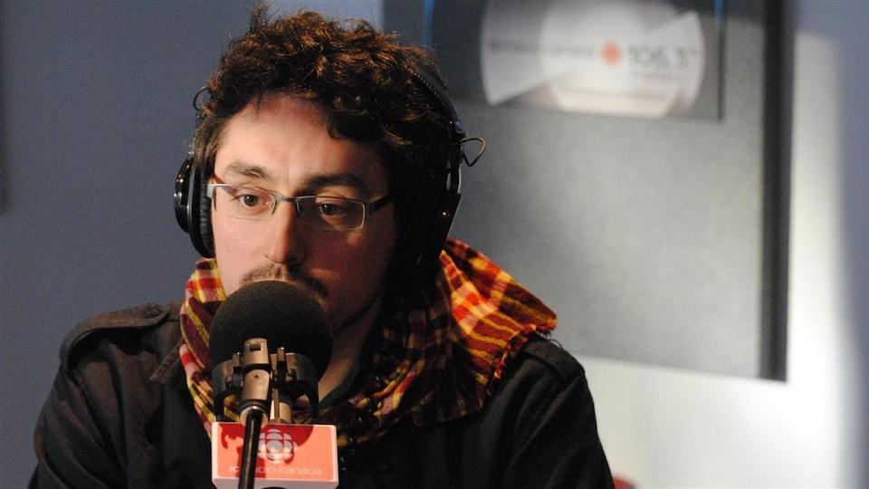 Le journaliste Frédérick Lavoie