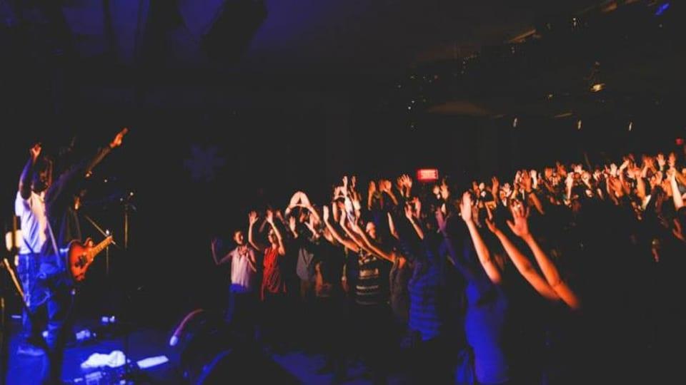 La foule répond présente lors des spectacles du FRIMAT.