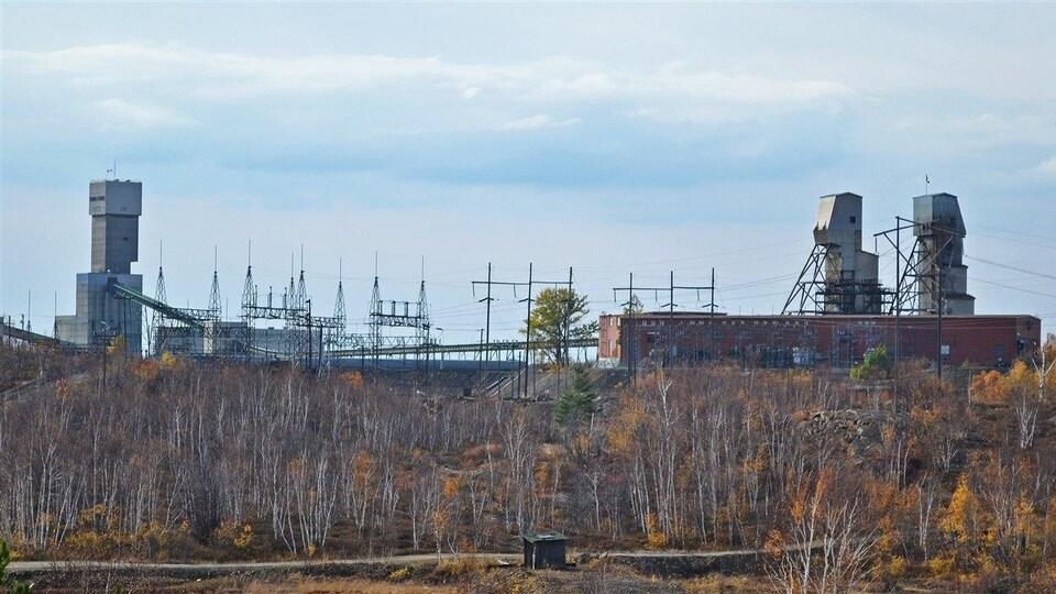 La mine Frood-Stobie de Vale à Sudbury