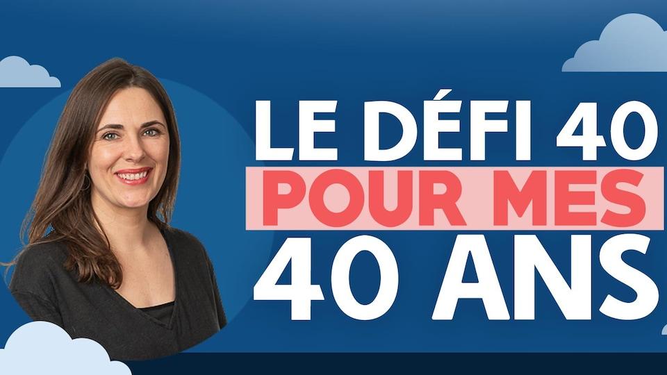 La Fureteuse fransaskoise, Nicole Lavergne-Smith, pose devant l'objectif dans le cadre de son défi 40.