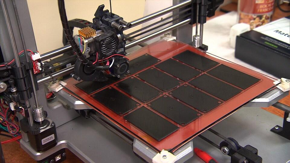 Un exemple de finition des pièces fabriquées par impression 3D