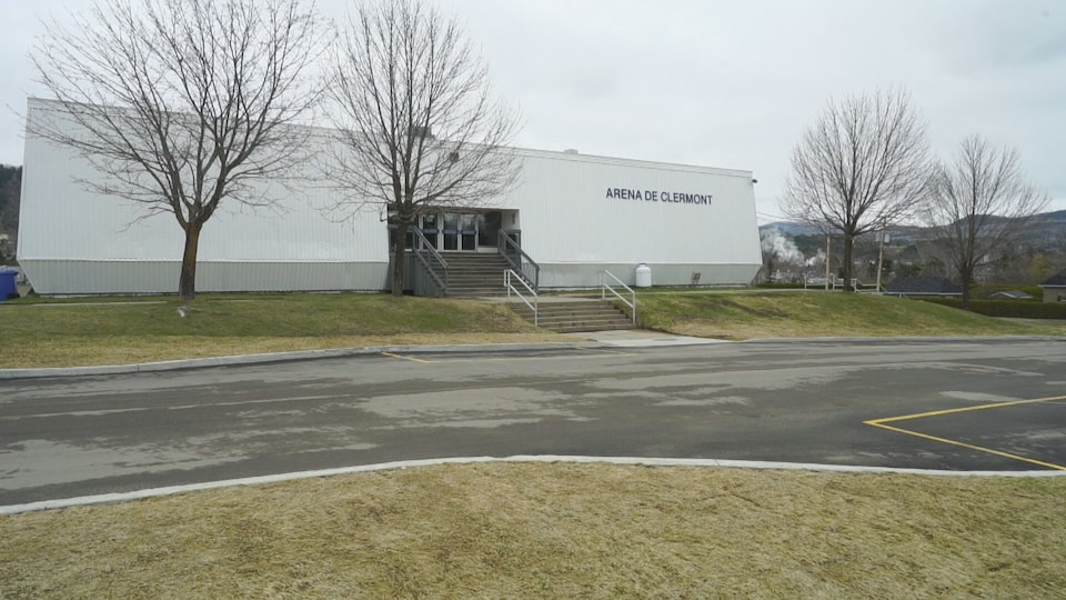 L'aréna de Clermont.