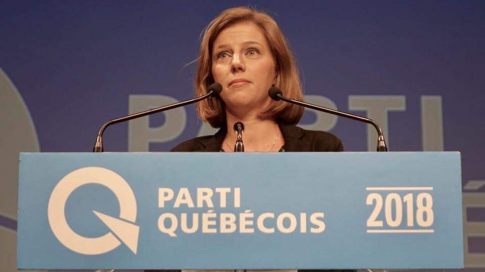 Avec le départ de Jean-François Lisée, la présidente du Parti québécois, Gabrielle Lemieux, agit à titre de cheffe de la formation politique. Le député Pascal Bérubé assume le rôle de chef parlementaire à l'Assemblée nationale.