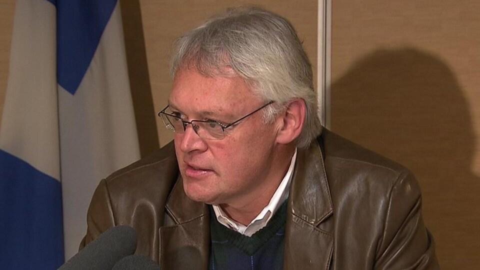 Le ministre responsable de la Gaspésie et des Îles, Gaétan Lelièvre
