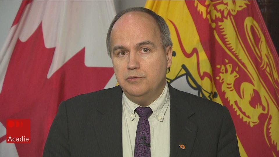 Gaëtan Thomas, PDG d'Énergie N.-B., en entrevue au Téjéjournal Acadie.