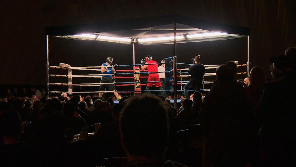 Le gala de boxe de la Fondation du Centre hospitalier (CHU) de Québec