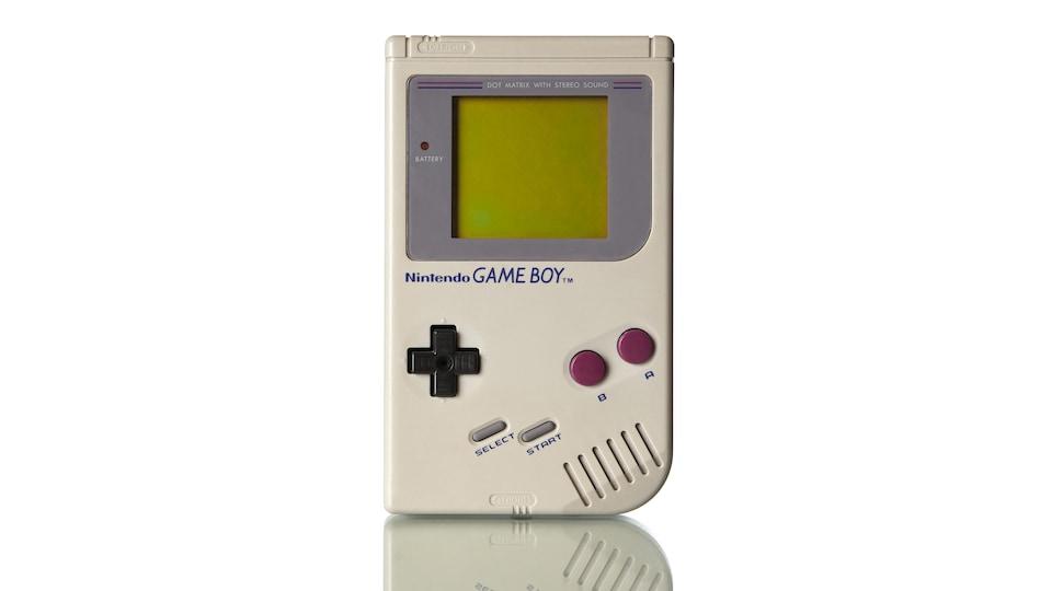 Une photo du Game Boy original.