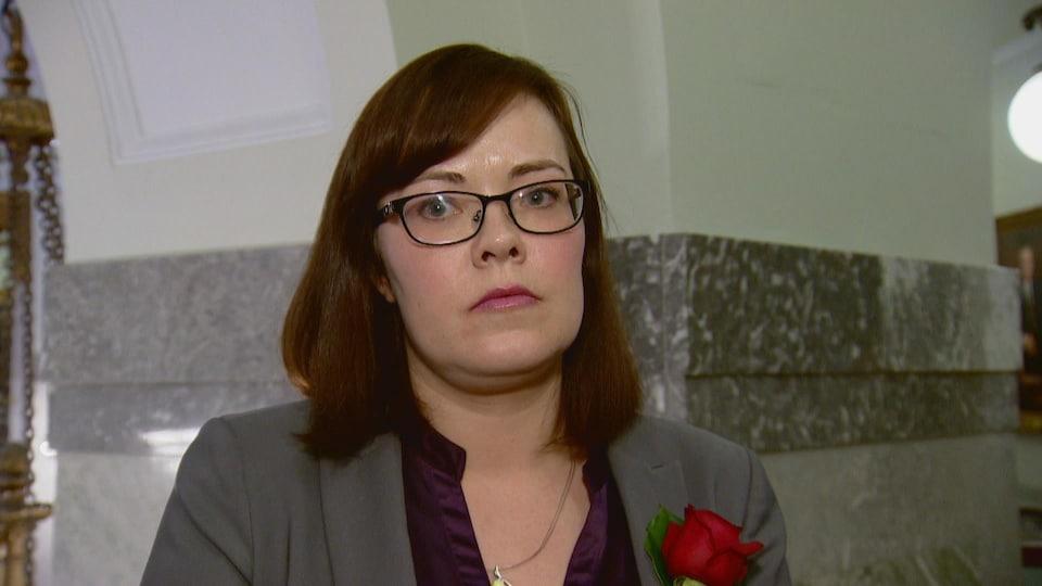 La ministre de la Justice, Kathleen Ganley