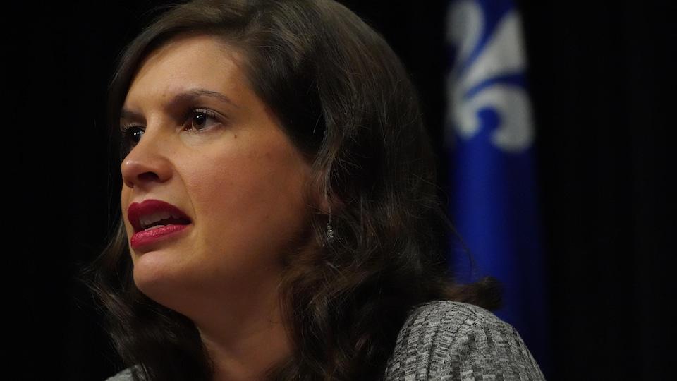 Geneviève Guilbault, vice-première ministre, ministre de la Sécurité publique et ministre responsable de la région de la Capitale-Nationale