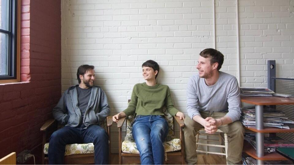 Le Gentiane MG Trio a été nommé Révélation jazz 2018-2019 de Radio-Canada.