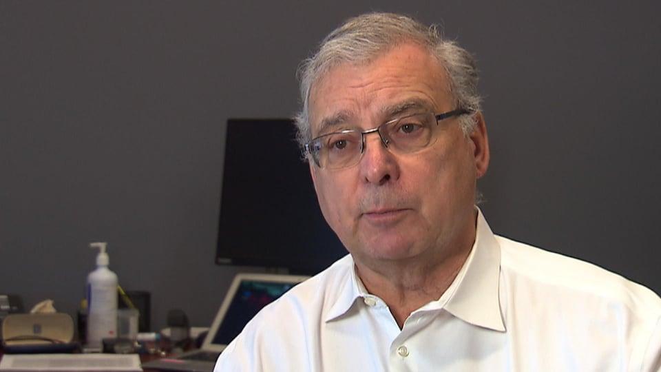 Georges L'Espérance, président de l'Association québécoise pour le droit de mourir dans la dignité.
