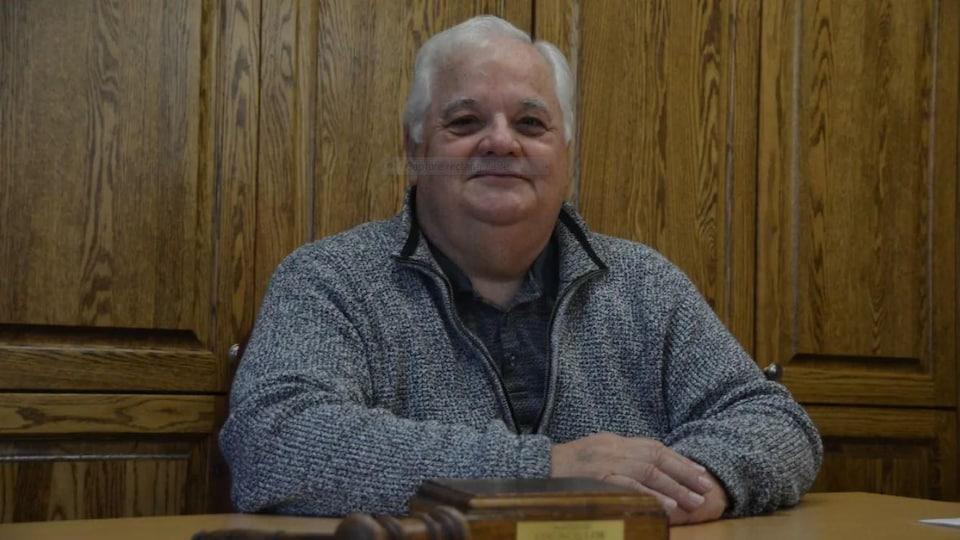 Le maire de la municipalité de Huron-Shores, Georges Bilodeau.