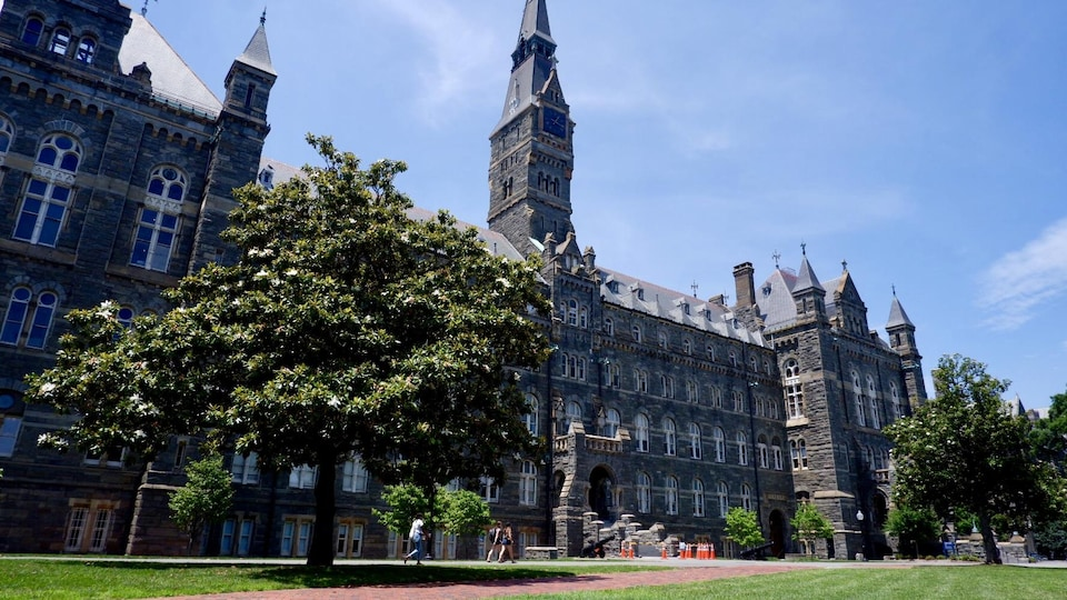 Le campus de l'Université Georgetown, à Washington.