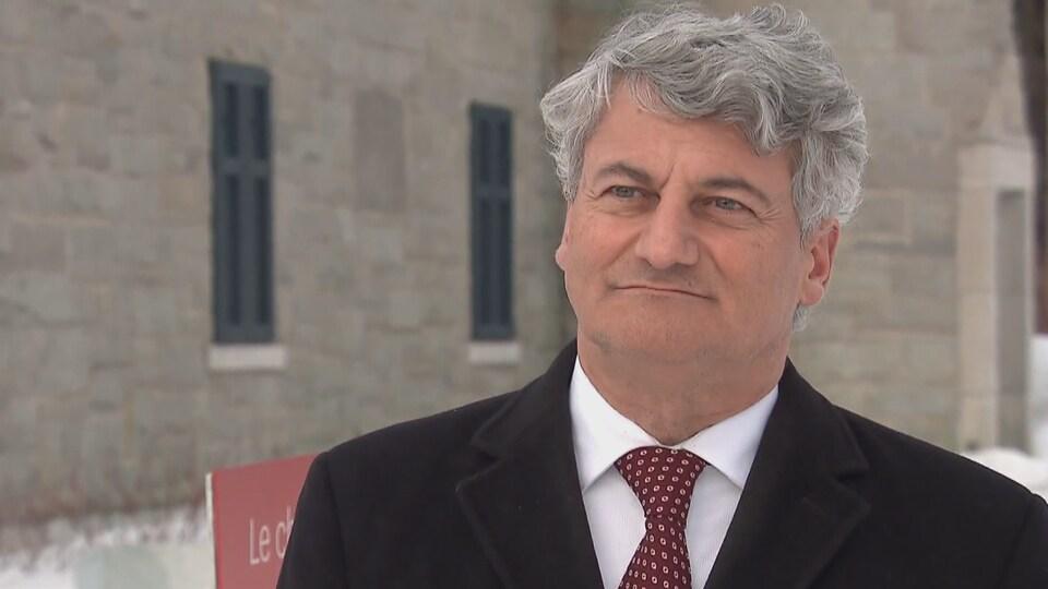 Gérard Deltell, député conservateur de Louis-Saint-Laurent.