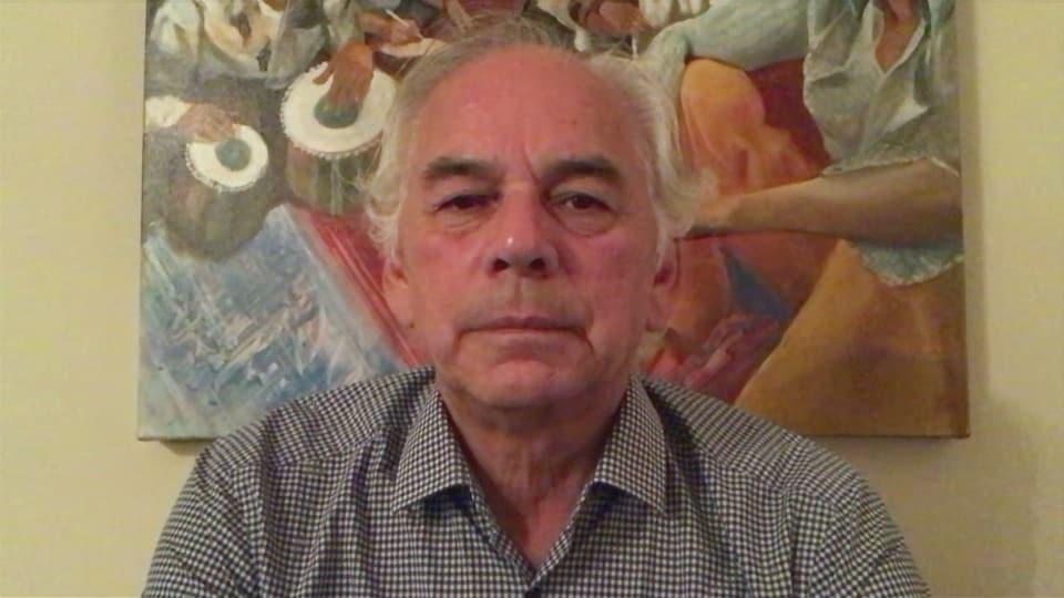 Ghislain Picard en visioconférence.
