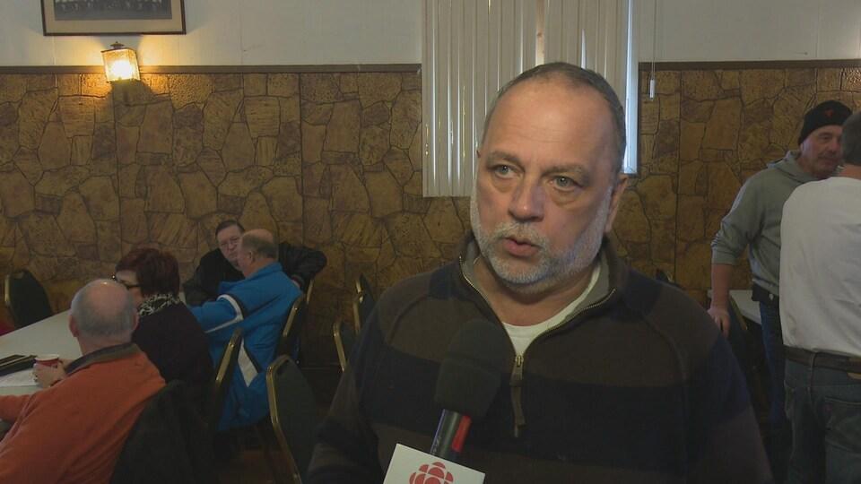 Gilles Bisson, député provincial de Timmins-Baie James