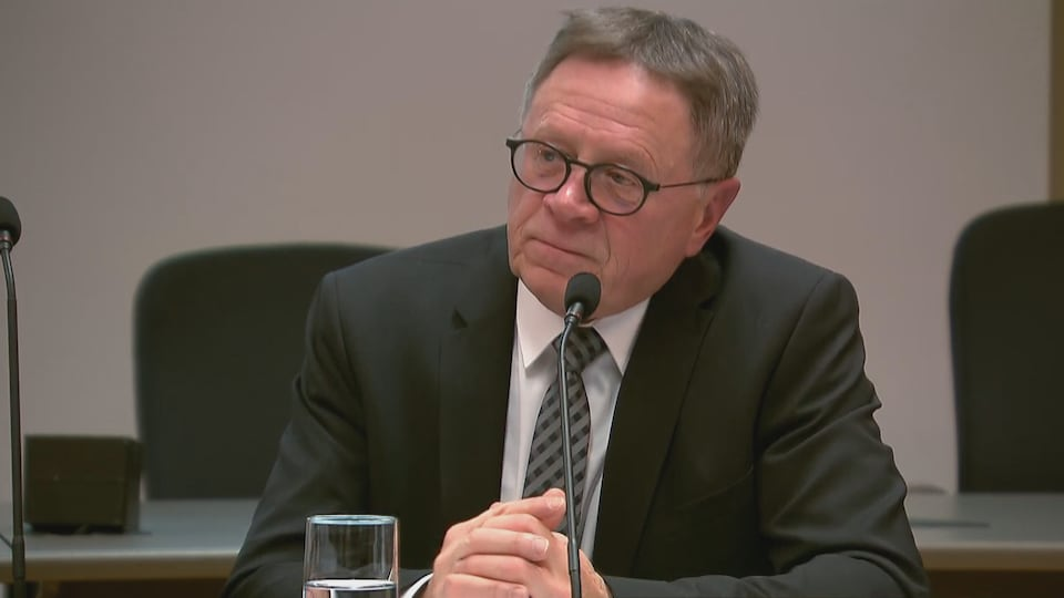 Gilles Lehouillier, maire de Lévis