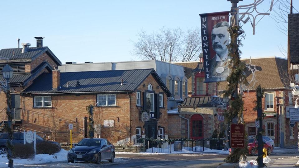 Unionville est un quartier historique de Markham, au nord de Toronto.