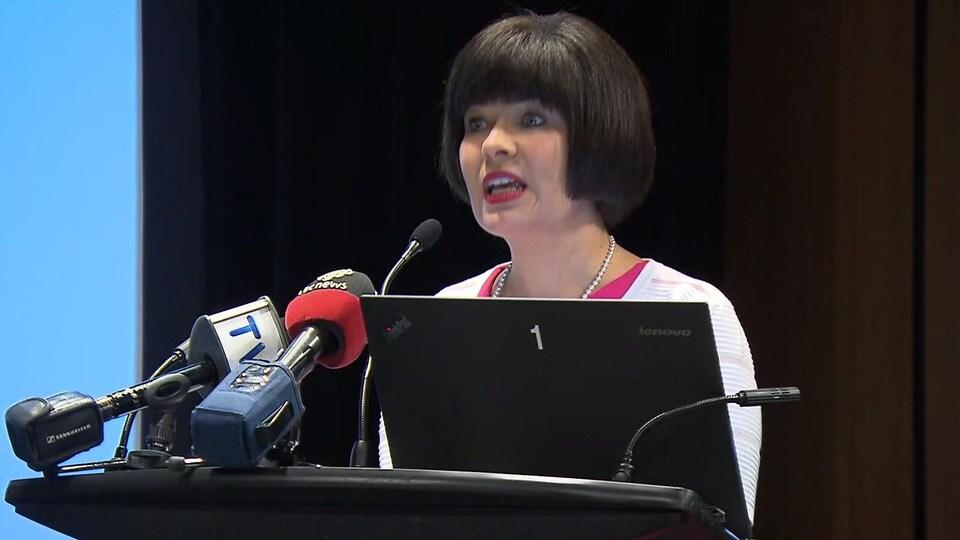 La ministre fédérale de la Santé, Ginette Petitpas-Taylor