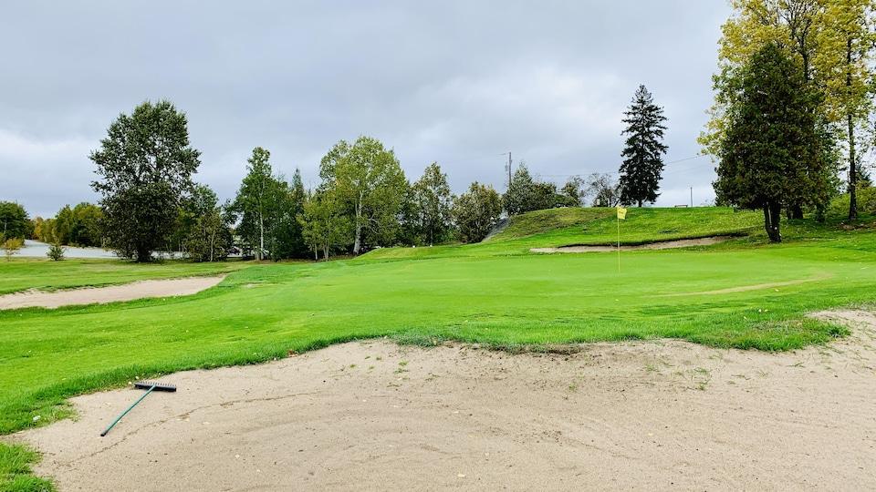 Un vert au Club de golf Noranda