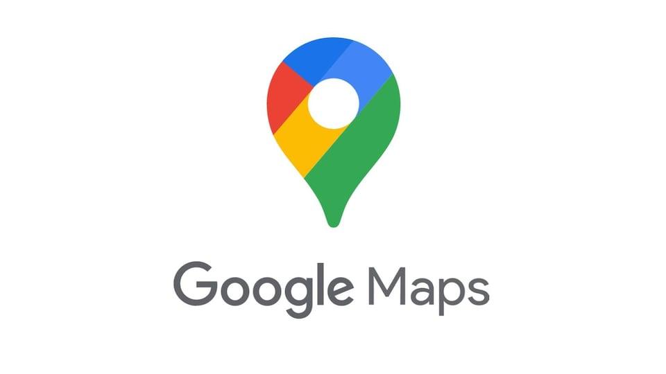 Le nouveau logo de Google Maps, une punaise aux couleurs de Google.
