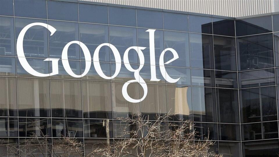 Le siège social de Google à Mountain View, Californie