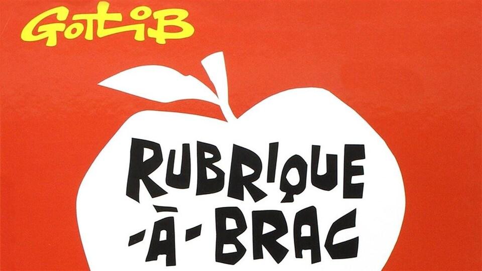 Détail de la couverture de la bande dessinée «Rubrique-à-brac»