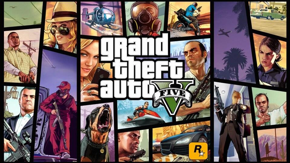 Art jeu Grand Theft Auto V.