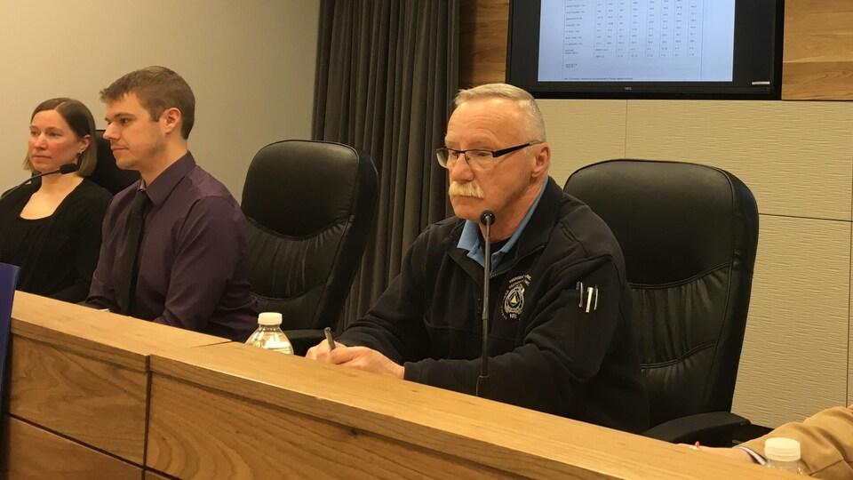 Greg MacCallum, directeur de l'Organisation des mesures d'urgence au Nouveau-Brunswick.