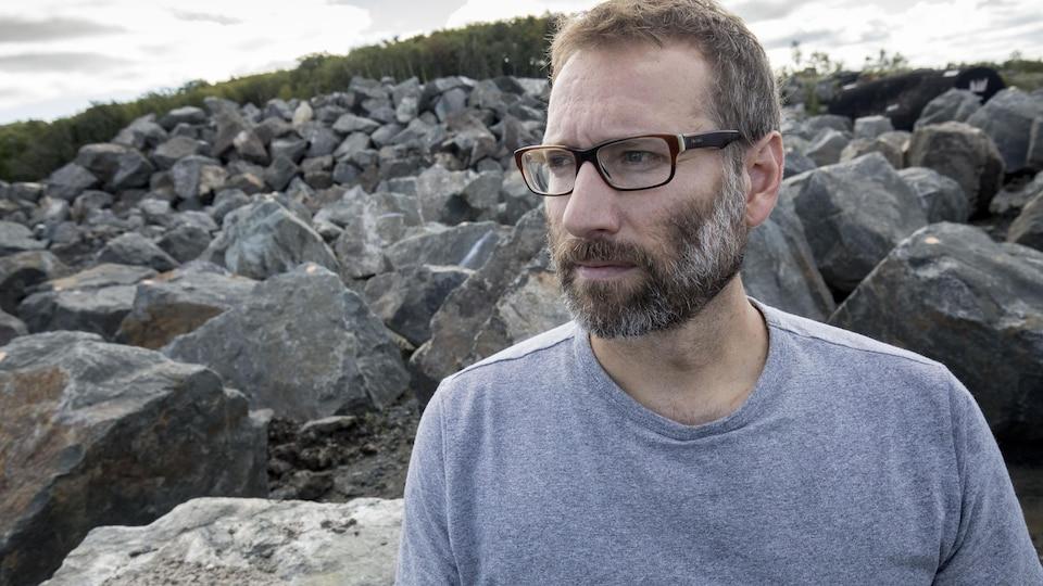Martin Anctil, ingénieur géologue et président de l'entreprise Ansa.