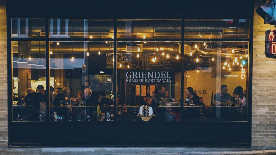 La microbrasserie Griendel a fermé ses portes temporairement le 17 mars.