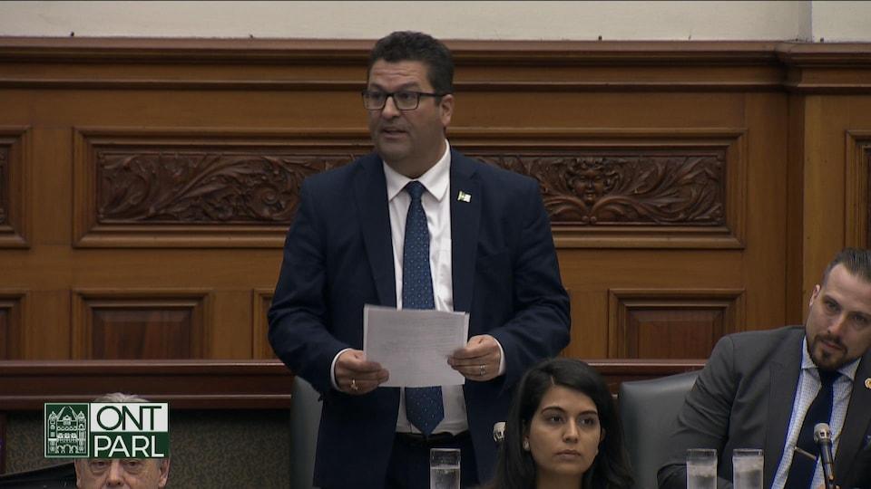 Le député néo-démocrate Guy Bourgouin.