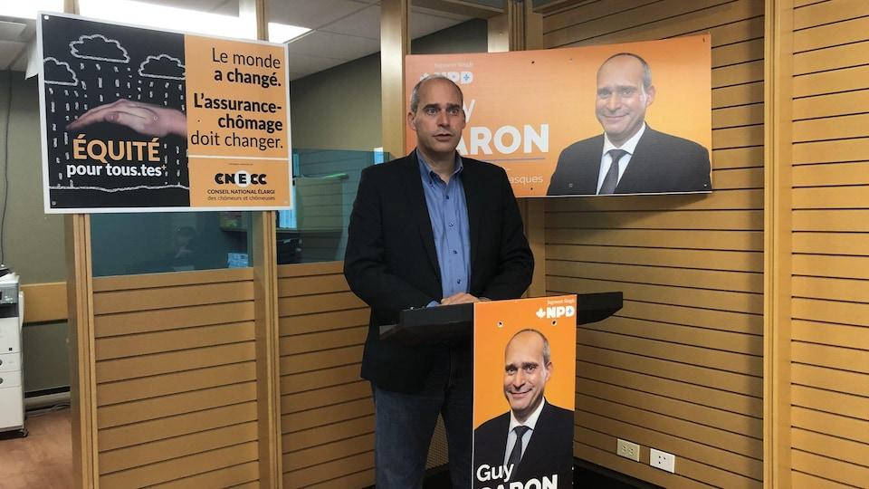 Guy Caron.