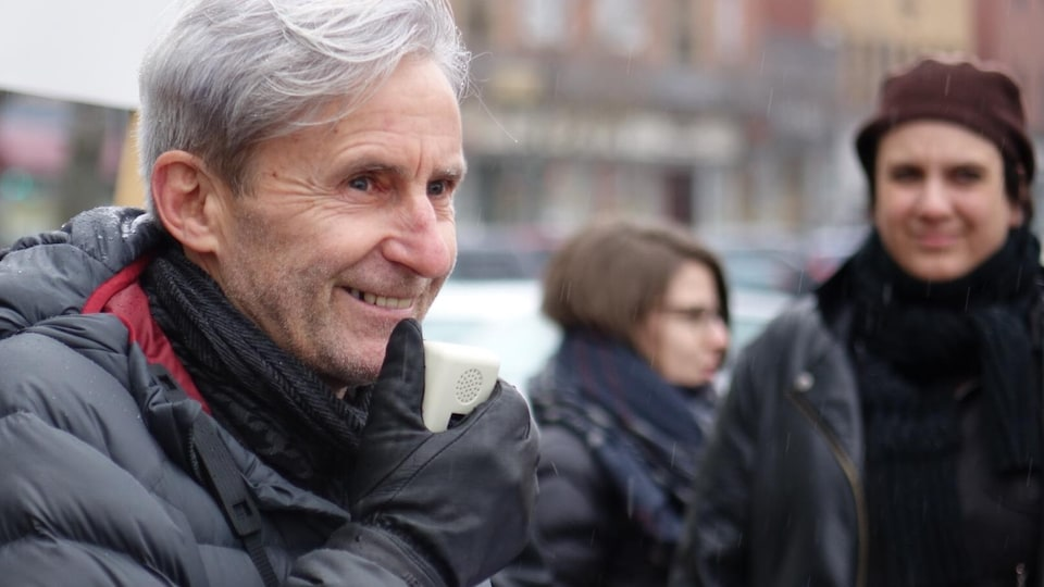 Guy Labonté, coordonnateur du Comité logement Rimouski-Neigette