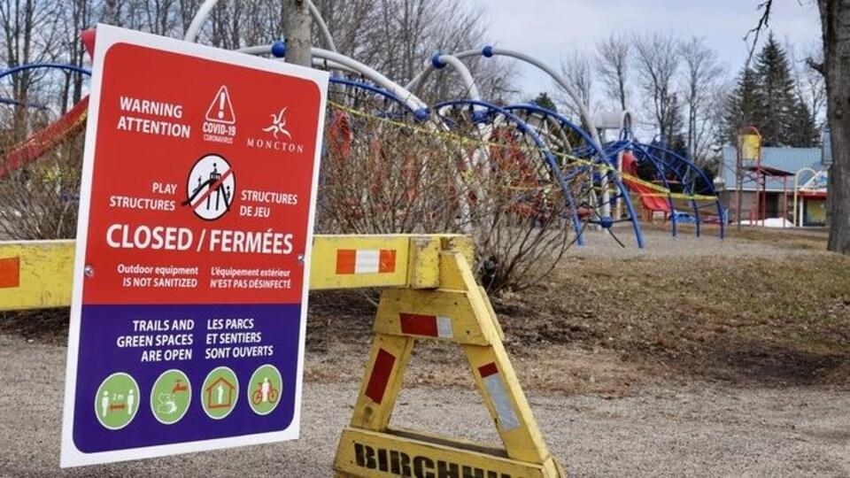 Image du parc Centenaire à Moncton.