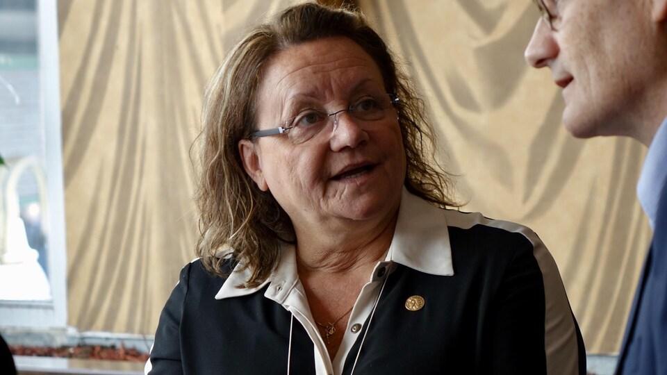 La préfet de la MRC de Témiscouata, Guylaine Sirois.