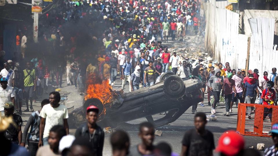 Haïti: le président sort de son silence après une semaine de violences