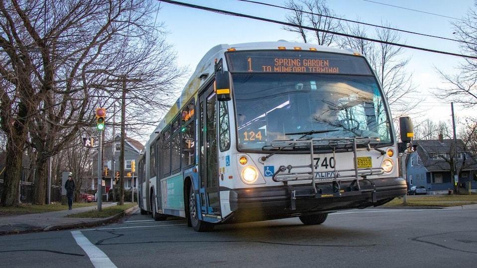 Un autobus à Halifax.