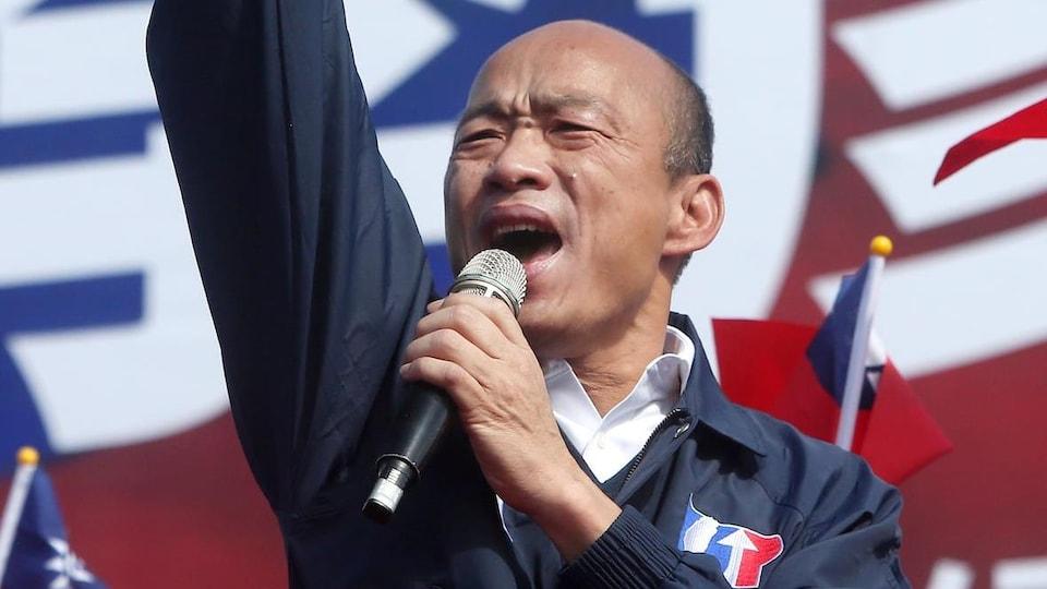 Le candidat présidentiel Han Kuo-yu.